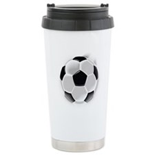 CRAZYFISH soccer ball Travel Mug