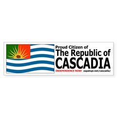 Cascadian Citizen Bumpersticker