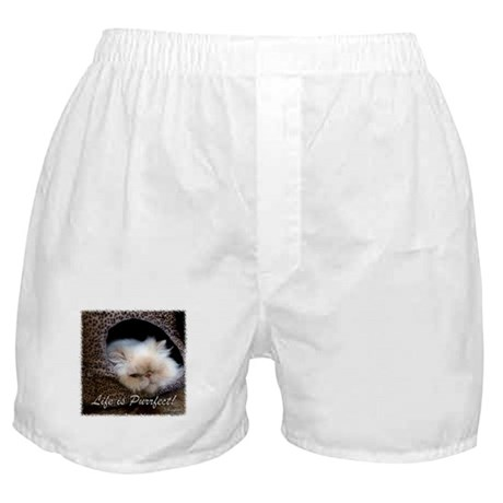 Life is Purrfect Boxer Shorts
