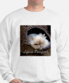 Life is Purrfect Sweatshirt