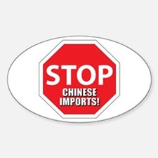 stop chinese Decal