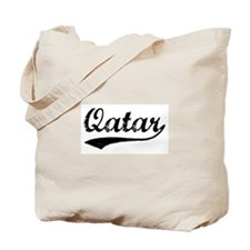 Vintage Qatar Tote Bag
