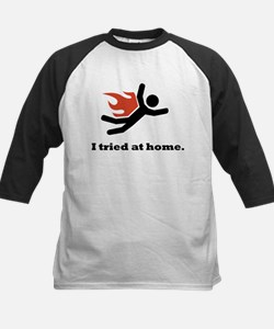 I tried at home. Tee