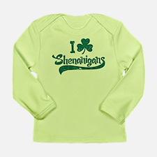 I Shamrock Shenanigans Long Sleeve Infant T-Shirt