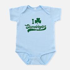 I Shamrock Shenanigans Infant Bodysuit
