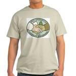Yeti-Sasquatch Brotherhood Light T-Shirt