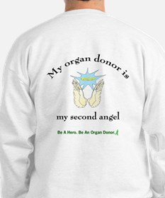Organ Donor Angel Wings Sweatshirt