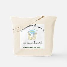 Organ Donor Angel Wings Tote Bag