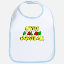 Little Italian Meatball Bib