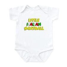 Little Italian Meatball Infant Bodysuit