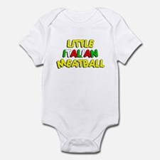 Little Italian Meatball Infant Bodysuit