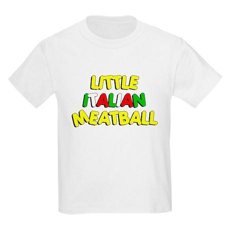 Little Italian Meatball Kids Light T-Shirt