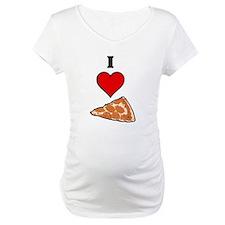 I heart Pizza Slice Shirt