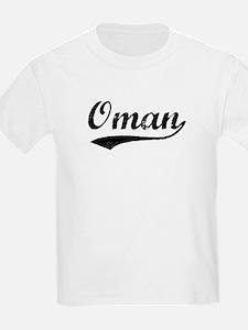 Vintage Oman Kids T-Shirt