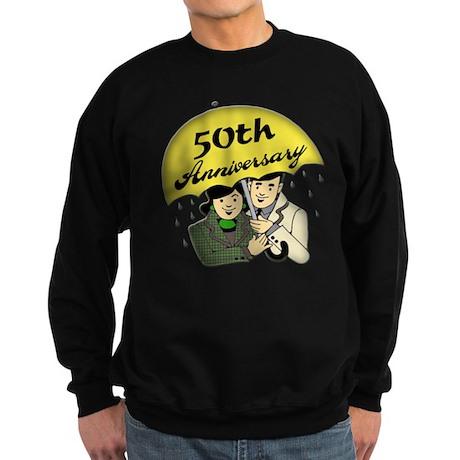 50th Wedding Anniversary Sweatshirt (dark)