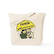 60th Wedding Anniversary Tote Bag