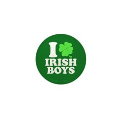 Irish Boys Mini Button