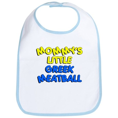 Mommy's Little Greek Meatball Bib