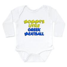 Mommy's Little Greek Meatball Long Sleeve Infant B