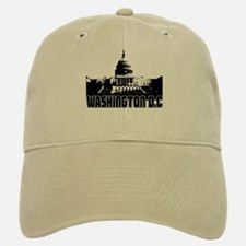 Washington D.C Skyline Baseball Baseball Cap