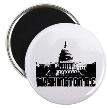 Washington D.C Skyline Magnet