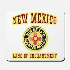 New Mexico Mounted Patrol Mousepad