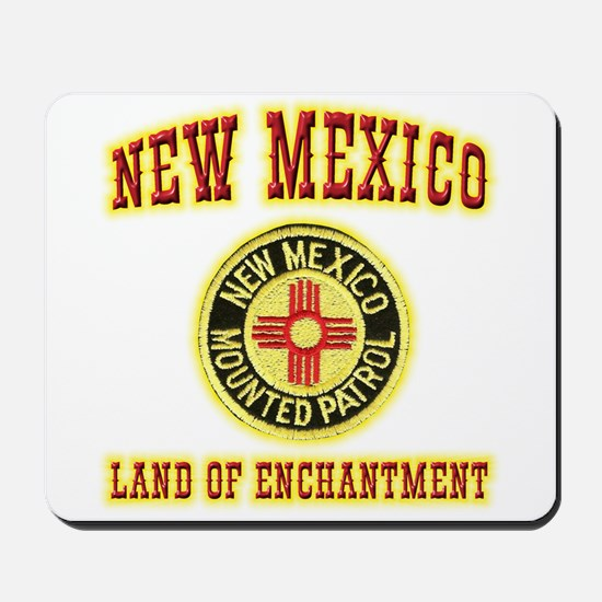 New Mexico Mounted Patrol Mousepad