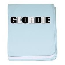 Geordie baby blanket