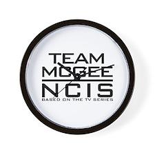 Team McGee NCIS Wall Clock