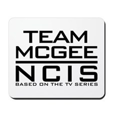 Team McGee NCIS Mousepad