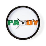 Paddy Wall Clock