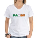 Paddy Women's V-Neck T-Shirt
