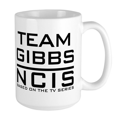 Team Gibbs NCIS Large Mug