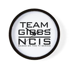 Team Gibbs NCIS Wall Clock