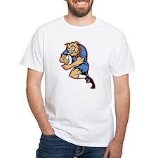 Bulldog playing rugby Shirt