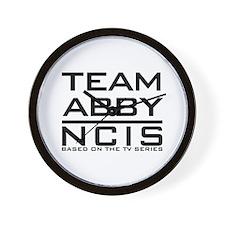 Team Abby NCIS Wall Clock