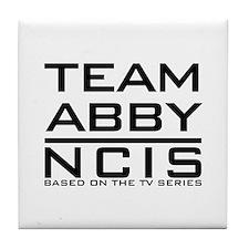 Team Abby NCIS Tile Coaster