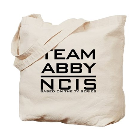 Team Abby NCIS Tote Bag