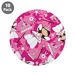 "Cute Fairytale Princess 3.5"" Button (10 Pk)"