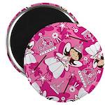 "Cute Fairytale Princess 2.25"" Magnet (10 Pk)"