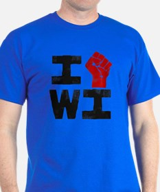 Solidarity with Wisconsin T-Shirt