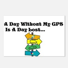 A Day Without GPS Postcards (Package of 8)