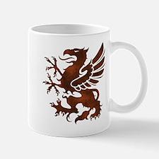 Brown Gryphon Mug