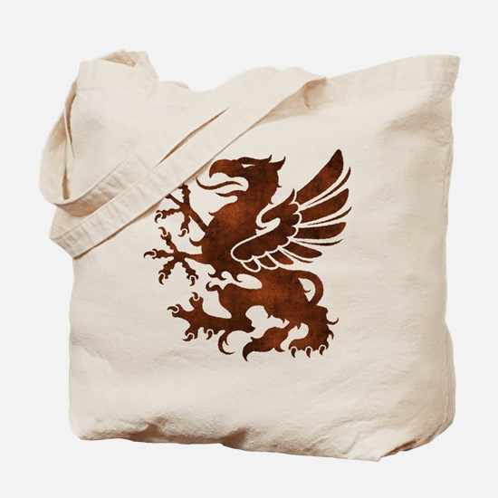 Brown Gryphon Tote Bag