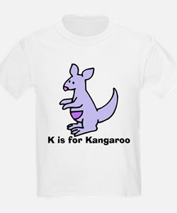 K is for Kangaroo T-Shirt