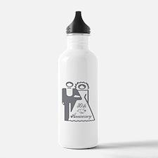 30th Wedding Anniversary Water Bottle