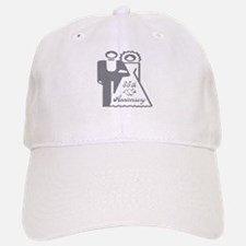35th Wedding Anniversary Baseball Baseball Cap