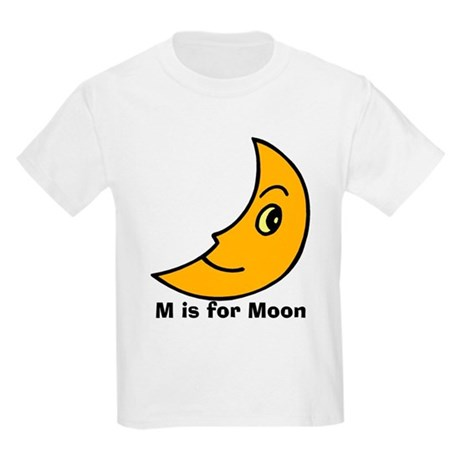 M is for Moon Kids Light T-Shirt
