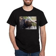 River Otter Black T-Shirt