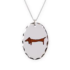 One Weiner Dog Necklace